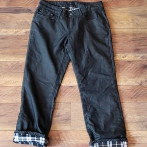 Prana Flannel Lined Jeans Size 2/26